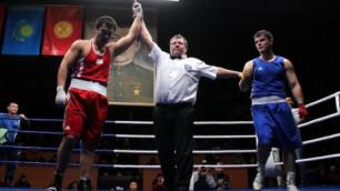 Казахстанский боксер Жанабаев выиграл турнир в Бишкеке
