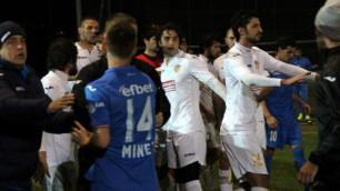 Товарищеский матч между армянским и болгарским клубами закончился массовой дракой