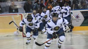 Казахстанские хоккеистки пропустили семь шайб от канадок на старте Универсиады