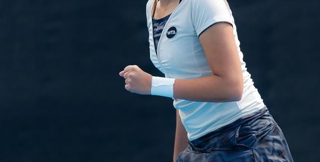 Зарина Дияс обыграла 10-ю ракетку мира во втором круге турнира в Дубае