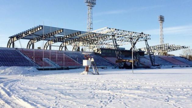 """Стадион """"Иртыша"""" не успеют полностью реконструировать к старту КПЛ"""