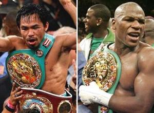 WBC изготовит эксклюзивный пояс для победителя боя Мейвезер - Пакьяо