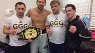 Иса Акбербаев нокаутом завоевал чемпионский титул