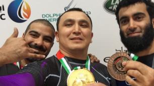 Сборная Казахстана по бразильскому джиу-джитсу завоевала семь медалей на Sharjah Jiu-Jitsu Open Championship