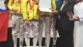 Казахстанские фехтовальщики выиграли девять медалей на юниорском чемпионате Азии