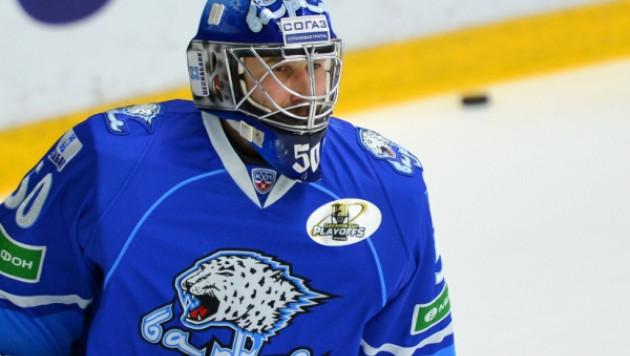 """Два сэйва вратаря """"Барыса"""" вошли в ТОП-10 по итогам первого раунда плей-офф КХЛ"""