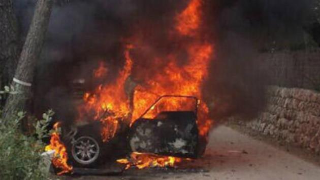 Испанский штурман сгорел заживо во время автогонок на Майорке