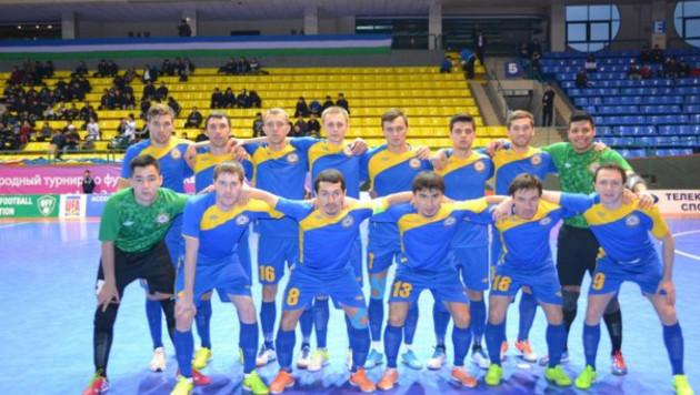 Казахстан стартовал с поражения в отборе на Евро-2016 по футзалу