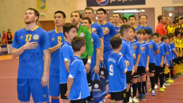 Казахстан обыграл Португалию в отборе на Евро-2016 по футзалу