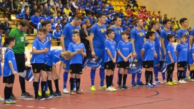 Видео матча отбора на Евро-2016 по футзалу Казахстан - Португалия