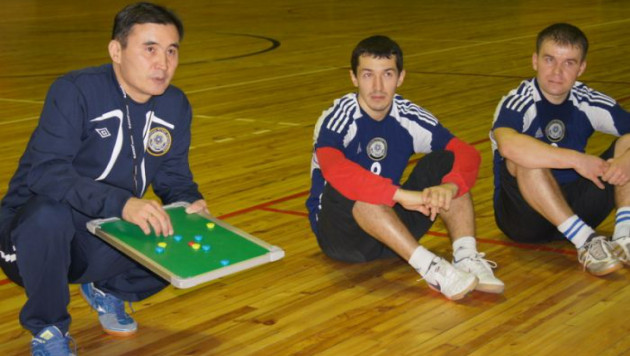 Футзальная сборная Казахстана созрела для больших побед - Амиржан Муканов