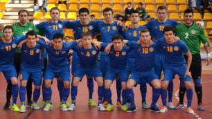 Казахстан гарантировал себе участие в стыковых матчах отбора на Евро-2016 по футзалу