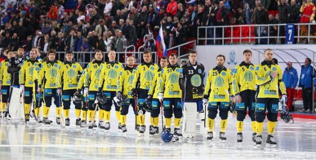 Сборная Казахстана по бенди в четвертый раз подряд стала бронзовым призером чемпионата мира