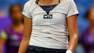 Зарина Дияс проиграла на старте турнира в Чарльстоне