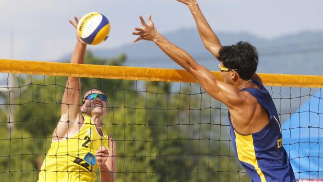 Мужская сборная Казахстана по пляжному волейболу стала победителем турнира в Таиланде