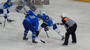 Сборная Казахстана по хоккею победила Италию в первом товарищеском матче