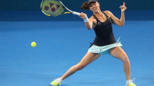 Мартина Хингис сыграла первый матч с 2007 года в одиночном разряде