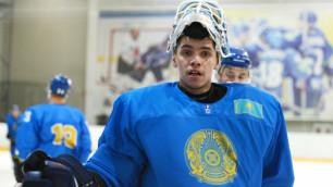 Назван состав на первый матч сборной Казахстана по хоккею на ЧМ