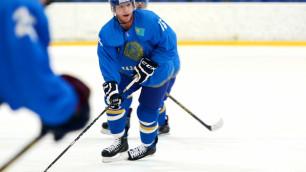 Даллмэн забросил свою первую шайбу в составе сборной Казахстана на ЧМ