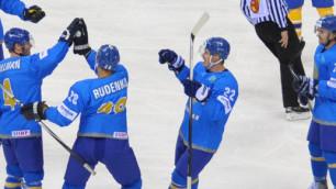 Казахстанские хоккеисты стартовали с победы на чемпионате мира в Польше