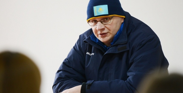 Назаров остался доволен стартом сборной Казахстана на чемпионате мира по хоккею