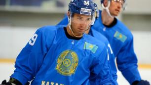 Сборная Казахстана по хоккею назвала состав на матч ЧМ против Венгрии