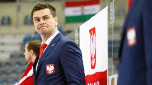 Победим Казахстан - займем второе место - тренер сборной Польши по хоккею