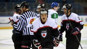 Итальянские хоккеисты перед матчем с Казахстаном проиграли Японии