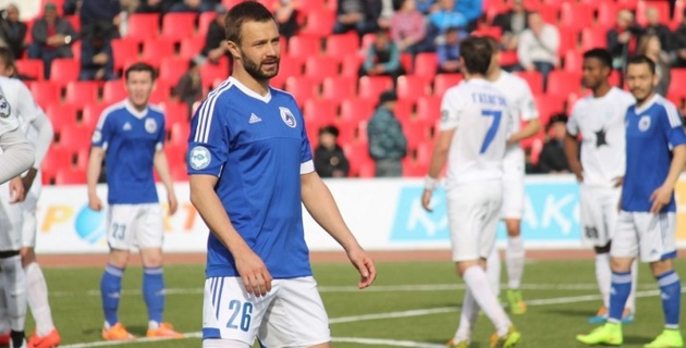 Дмитрий Сычев забил первый гол в чемпионате Казахстана