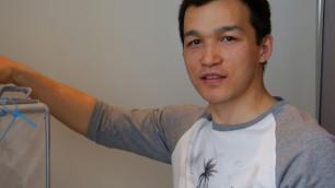 Хоккеисты сборной Казахстана в Польше приняли участие в выборах Президента РК