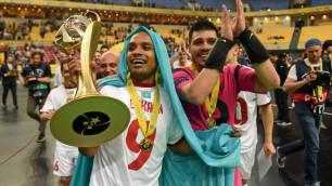 """Мы обыграли всемогущую """"Барселону"""", и нашу радость не описать словами - защитник """"Кайрата"""" Лео"""