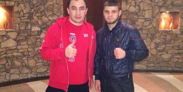 Руслан Мадиев оказался на 200 граммов тяжелее своего соперника