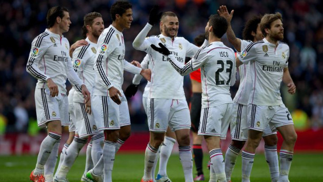 """""""Реал"""" остался самым дорогим футбольным клубом мира"""