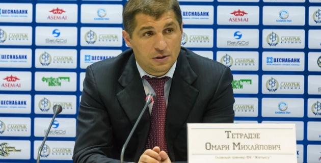 """Тетрадзе стал претендентом на пост тренера """"Шахтера"""""""