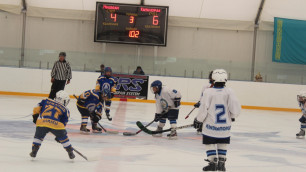 В Алматы определился чемпион детского хоккейного турнира в честь Дня Победы