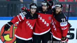 Сборная Канады по хоккею вышла в плей-офф чемпионата мира