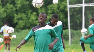 Футболисты Буркина-Фасо провели первую тренировку в Алматы