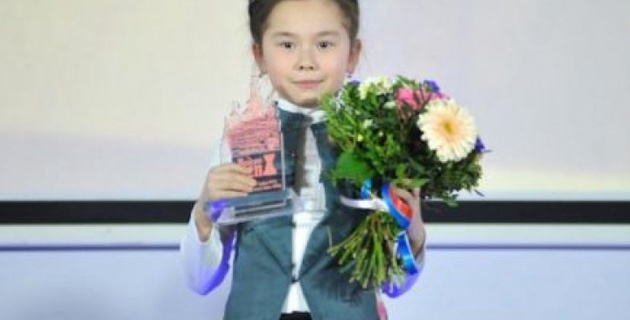 Девятилетняя казахстанская шахматистка стала чемпионкой мира среди школьников
