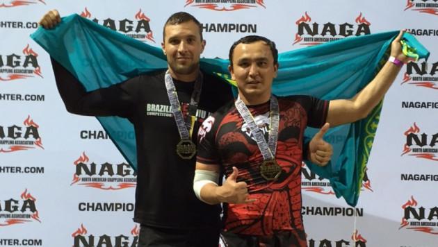 Казахстанцы Махметов и Гуров выиграли международный турнир по джиу-джитсу Monaco Open