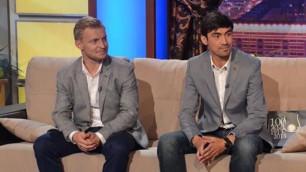 Смаков и Карпович снялись в ток-шоу Нурлана Коянбаева