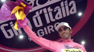 """Не думал, что мое лидерство на """"Джиро"""" находится в опасности - Контадор"""