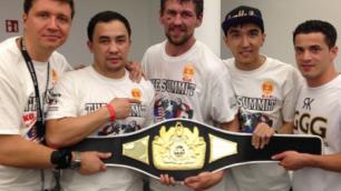 Это мой самый серьезный бой, потому что я впервые преодолел дистанцию в 12 раундов - Иса Акбербаев