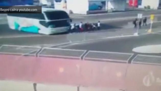 Арестован сбивший в Баку австрийских спортсменок водитель автобуса