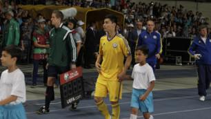 Исламхан оказался самым точным в составе сборной Казахстана в матче с Турцией
