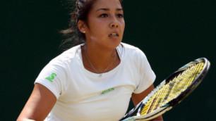 Зарина Дияс сохранила позицию в рейтинге WTA