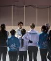 Денис Тен и участники ледового шоу провели мастер-класс для казахстанских детей