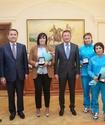 Известные казахстанские спортсмены получили ключи от квартир в Астане
