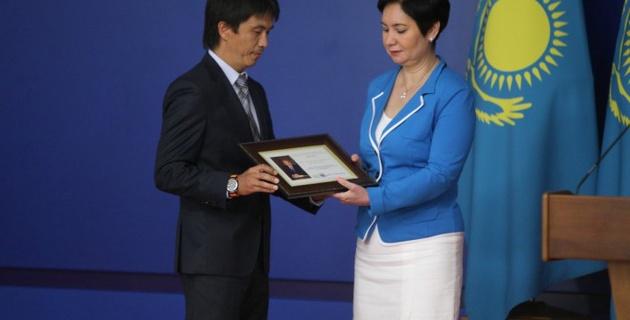 Сайт Vesti.kz отмечен Благодарностью Президента Казахстана Нурсултана Назарбаева
