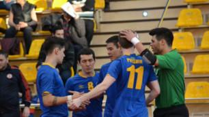 Казахстан узнал соперников по отбору на чемпионат мира по футзалу
