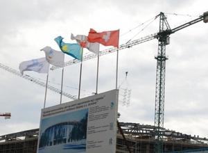 """Трое рабочих погибли на стройке новой арены """"Барыса"""""""